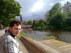 Arash, stormclouds, and Uppsala