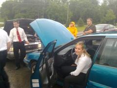 Steph's Car Breaking Down