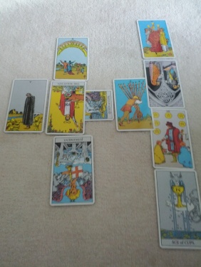 Tarot Spread Dec. 4, 2011 - Celtic Cross