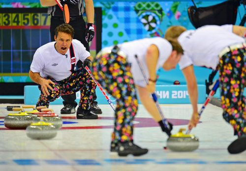 Curling - Thomas Ulsrud
